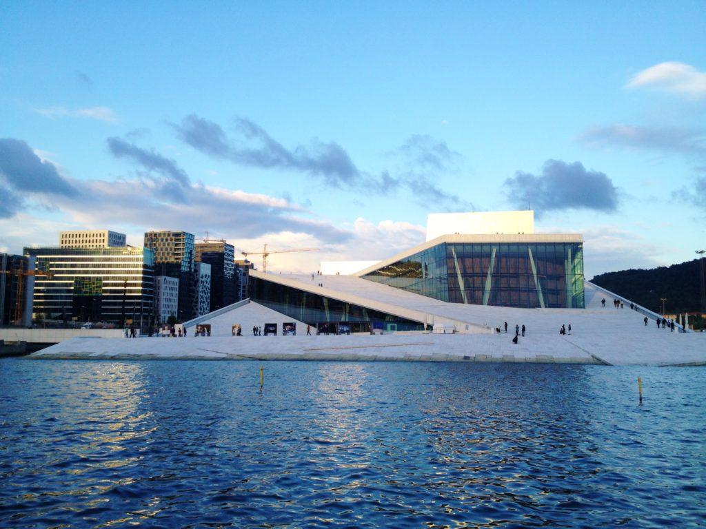Oslo in the summer Opera 2012
